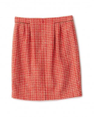レッド系 ウィンドペンツィードスカートを見る