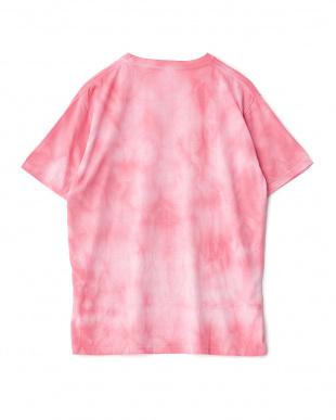 ピンク タイダイ染めTシャツを見る