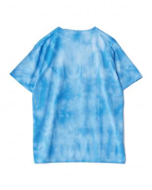 ライトブルー タイダイ染めTシャツを見る