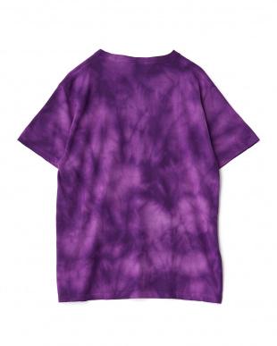 パープル タイダイ染めTシャツを見る
