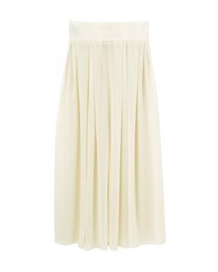 CREAM クリームシフォンロングスカートを見る
