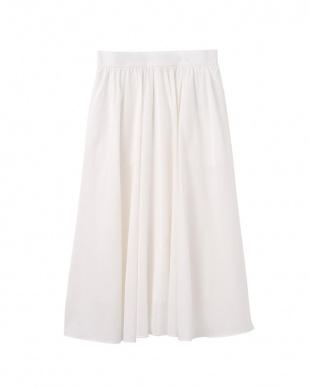 アイボリー IVORY Made in JAPAN リゾートコットンフレアスカートを見る