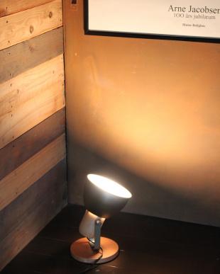 MOSS_GN アルミ&ウッド1灯テーブル&壁掛け兼用ランプ見る
