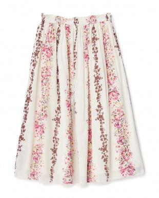 ホワイト リバーシブルスカートを見る