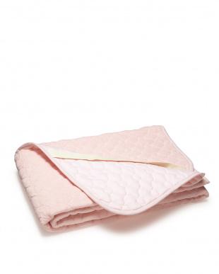 ピンク シンカーパイルパッドシーツ セミダブル見る