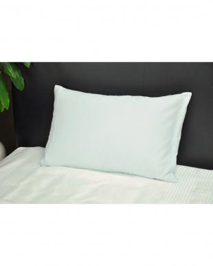 ブルー アイスボディシーツ 涼感枕カバー 2枚組 キシリトール加工 43×63cmを見る