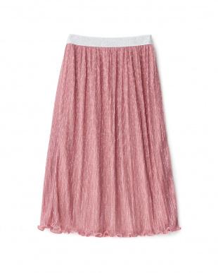 ピンク ラメ入りスカートを見る