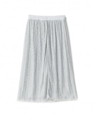 シルバー ラメ入りスカートを見る