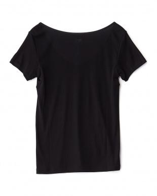 ブラック 抗菌防臭 吸水速乾 Ice Deo 2分袖シャツを見る