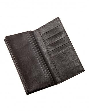 ヴァニラベージュ クロコダイル 長札財布見る