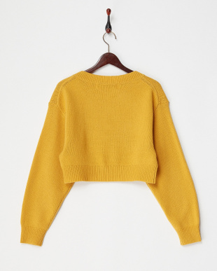 YELLOW LETTERED KNIT POを見る