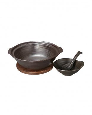 黒 耐熱煮込み鍋セット見る