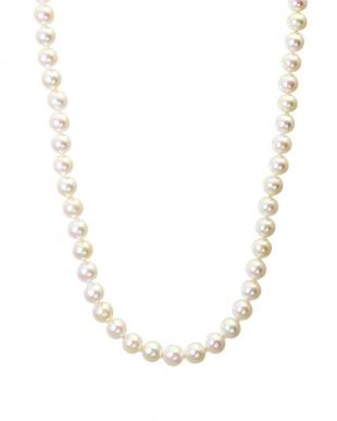 ホワイト/ピアス ホワイト あこや本真珠 希少大珠 8.5~9mm 3点セット(ピアス+連ネックレス+一粒ネックレス)を見る