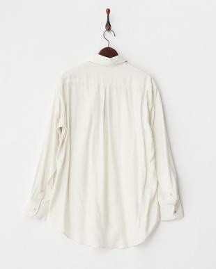ホワイト C/W/Rシャンブレーオーバーシャツ見る