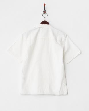 ホワイト C/CUシーリングショートスリーブシャツを見る