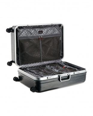 ブラックH ダブルキャスターハードスーツケース94L見る