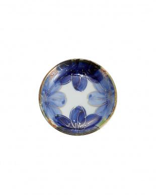 藍琳派紋 小皿2個入見る