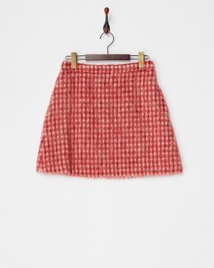 レッド系 DECOLLO シャギースカートを見る