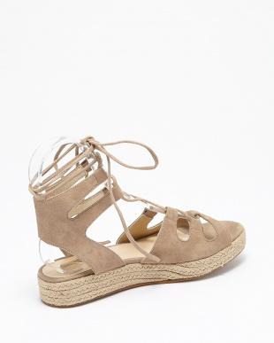 ブラウン laceup sandalsを見る
