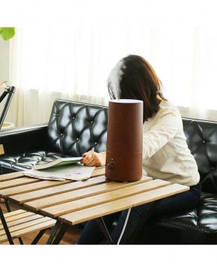メイプルウッド アロマ超音波式加湿器 -wood-見る