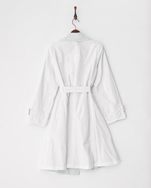 90/無彩色A(ホワイト) オフホワイト MJ バイカラーリバーシブルラップコートを見る