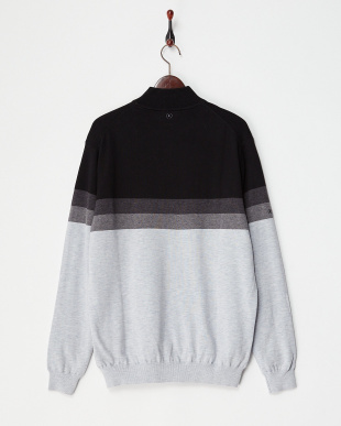 SLVR MAR MLT PEARCE LINED SWEATER見る