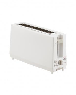 ホワイト ポップアップトースターを見る