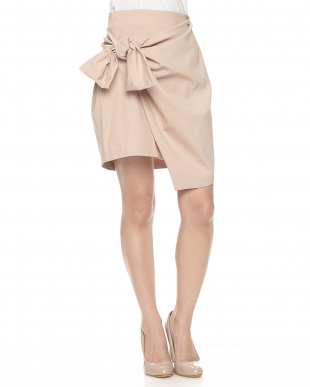A419 ピンク ジャージーラップスカート WOMENを見る