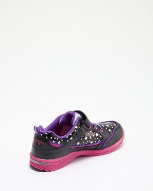 ブラック/ピンク 女児 1本ベルトモデル見る