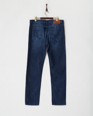 DENIM DARK BLUE SLIM 5ポケットジーンズ見る