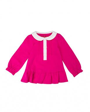 D・ピンク ディープピンク 衿付きドレス&ブルマセットを見る