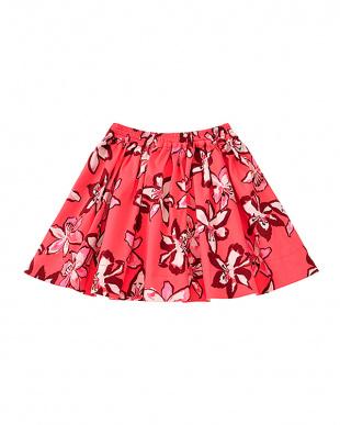 チェリー ピンク toddlers' tiger lily skirtを見る