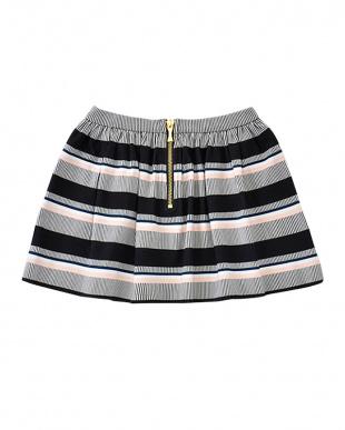 マルチ toddlers' bay stripe coreen skirtを見る