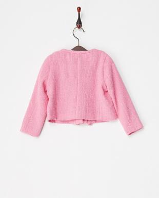 ピンク T. tweed jacketを見る