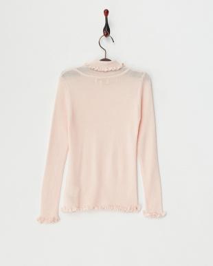 サーモンピンク G.ニットハイネックセーターを見る