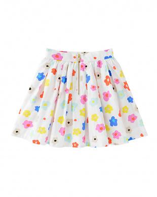 マルチ G.faye floral skirtを見る