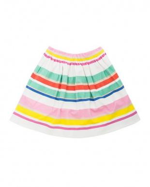 マルチ cape stripe skirtを見る