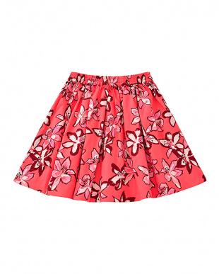 チェリー ピンク チェリーピンク girls' tiger lily skirtを見る