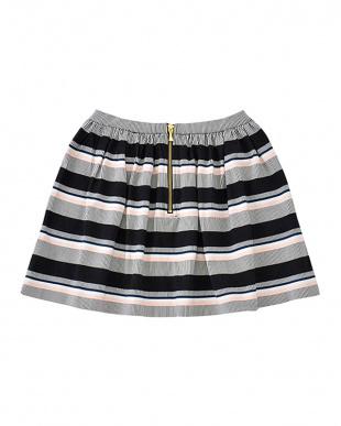 マルチ girls' bay stripe coreen skirtを見る
