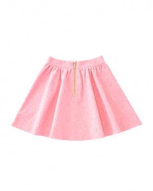 ピンク lace jersey skirtを見る