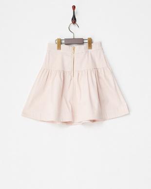 ピンク strech satin skirtを見る