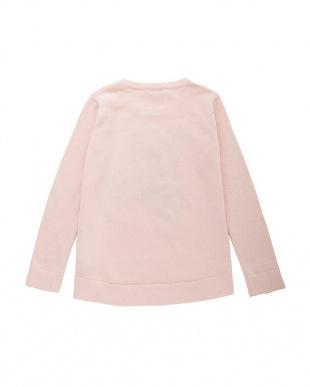 ライト ピンク ライトピンク インターシャ セーターを見る