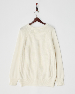 OFF CW Crewneck Knit FORK&SPOON見る