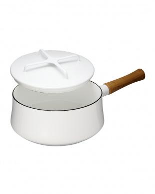 ホワイト コベンスタイル片手鍋 18cm見る