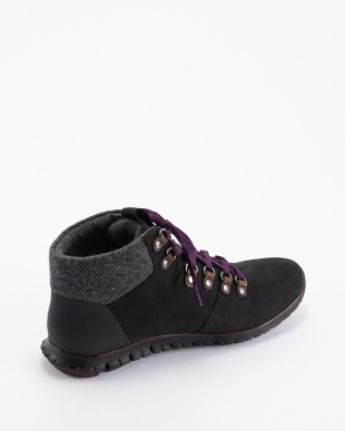 BLACK/ELDERBER ZEROGRAND HIKER BOOTを見る