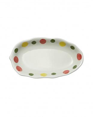 スイートドットピンク カレー皿を見る