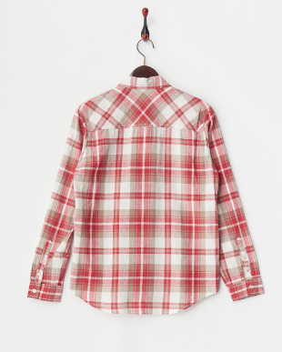 レッド チェックシャツ見る
