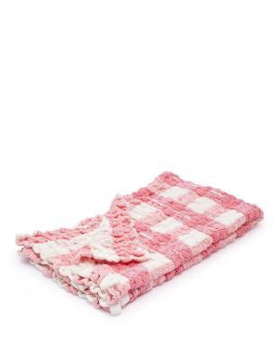 ピンク コッフルタオル プラス バスタオルを見る