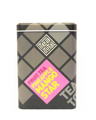 TEA TOTAL FRUIT TEA PINEAPPLE MANGO STAR(缶入り100g)見る