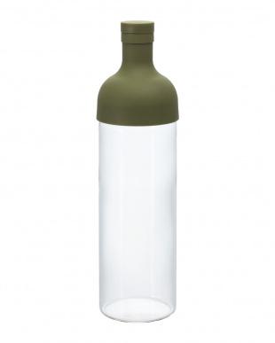 オリーブグリーン フィルターインボトル(水出し茶ボトル) 750mL見る
